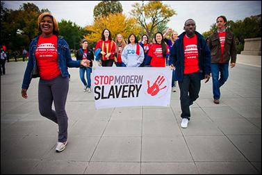 DC Stop Modern Slavery Walk, GW