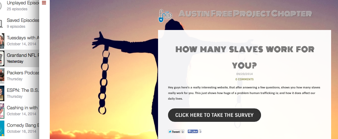 Austin Free Project Is Now Blogging!